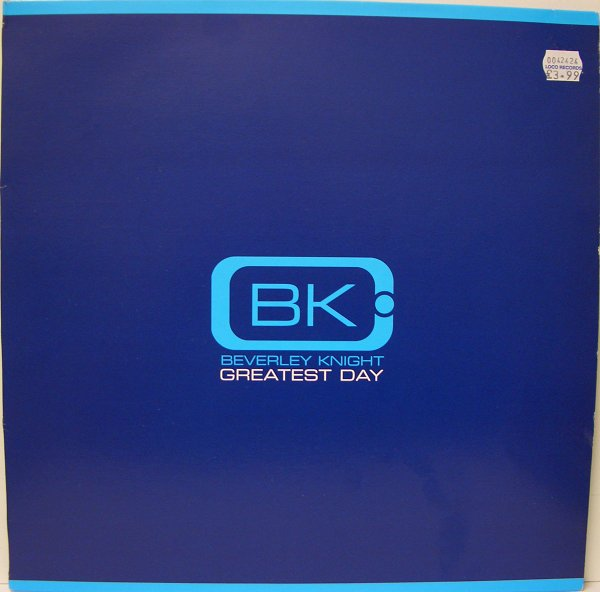 BEVERLEY KNIGHT - Greatest Day - 12 inch 45 rpm