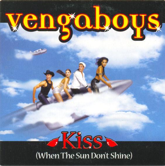 VENGABOYS - Kiss - CD single
