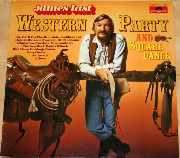 JAMES LAST - Country And Square Dance Party - 33T