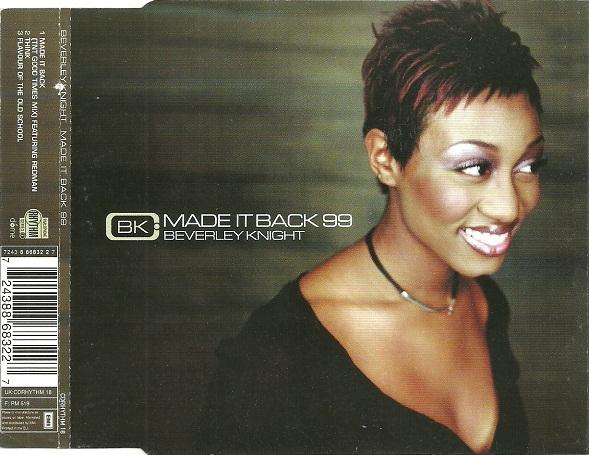 BEVERLEY KNIGHT - Made It Back 99 - CD single