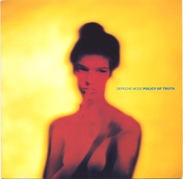 DEPECHE MODE - Policy Of Truth - 45T (SP 2 titres)