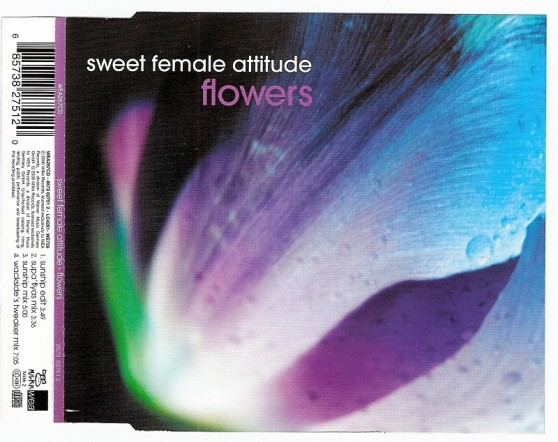 SWEET FEMALE ATTITUDE - Flowers - CD single
