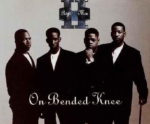 BOYZ II MEN - On Bended Knee - CD single