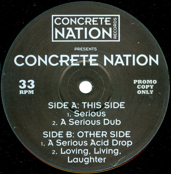 CONCRETE NATION - Serious - 12 inch 45 rpm