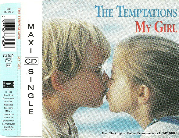 TEMPTATIONS - My Girl - CD single