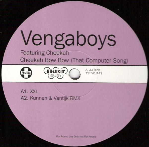 VENGABOYS - Cheeka Bow Bow - 12 inch 45 rpm x 2
