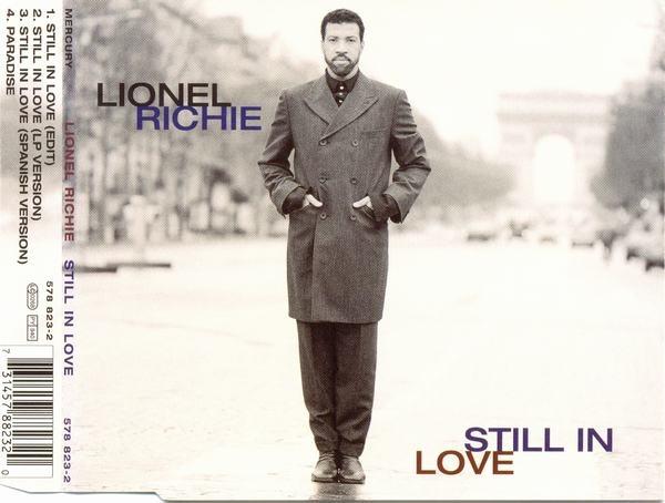 LIONEL RICHIE - Still In Love - CD single