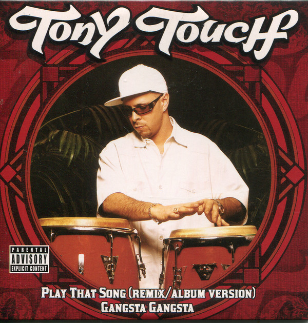 TONY TOUCH - Play That Song - CD single
