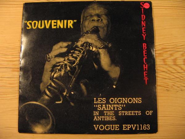 SIDNEY BECHET - Souvenir - 45T (SP 2 titres)