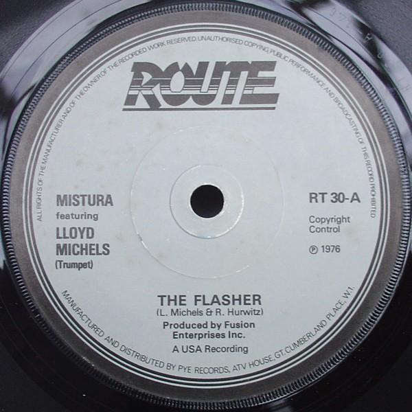 MISTURA (2) FEATURING LLOYD MICHELS - The Flasher - 7inch (SP)