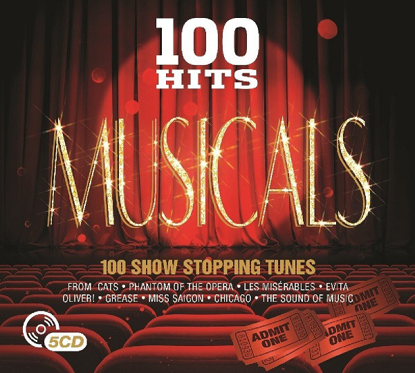 VARIOUS - 100 Hits Musicals - CD