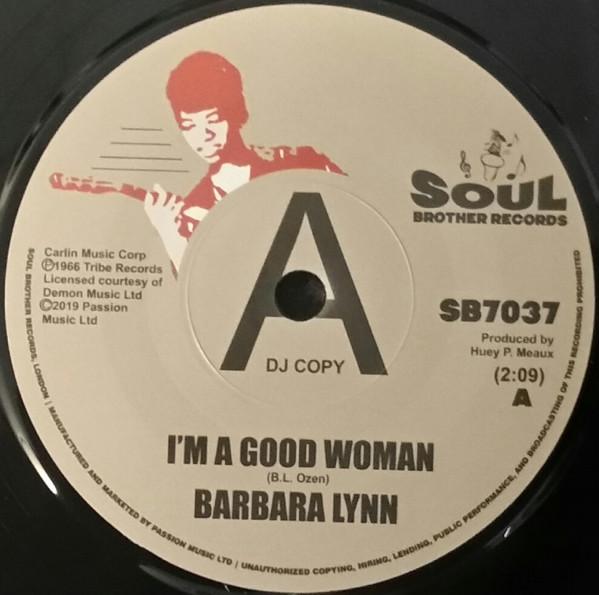 BARBARA LYNN - I'm A Good Woman - 7inch (SP)