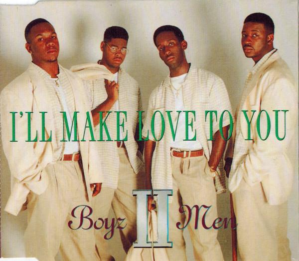 BOYZ II MEN - I'll Make Love To You - CD single