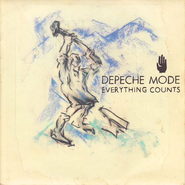 DEPECHE MODE - Everything Counts - 45T (SP 2 titres)