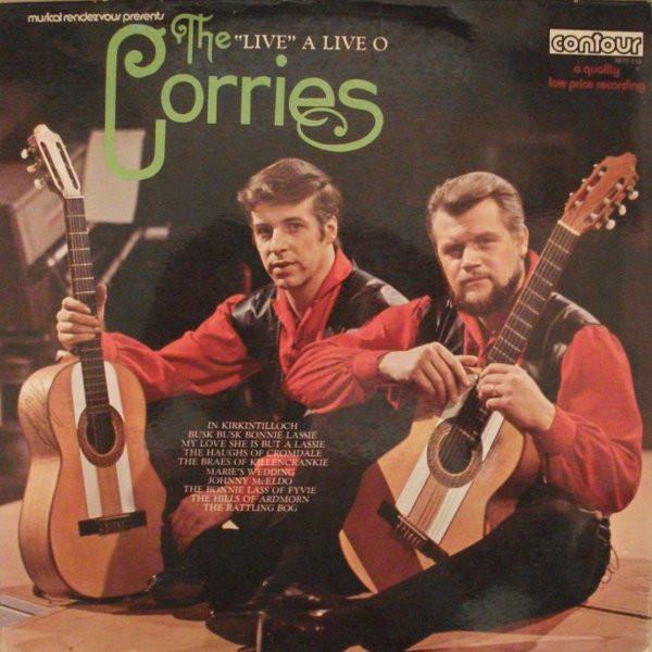 CORRIES - ''Live'' A Live O - LP