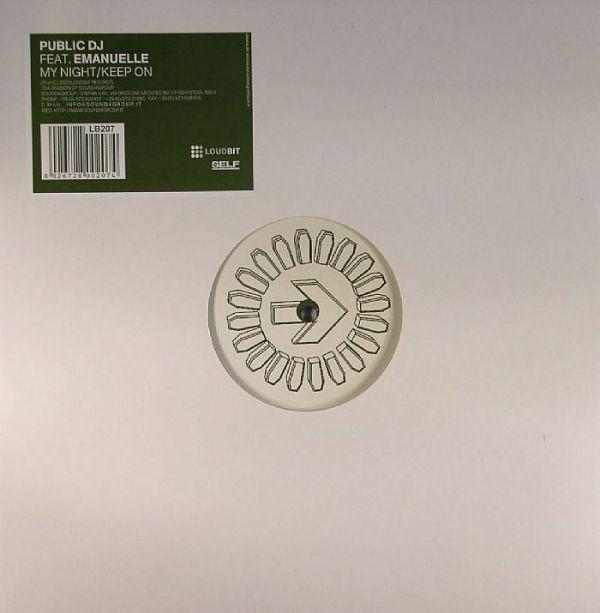 PUBLIC DJ - My Night / Keep On - Maxi 45T