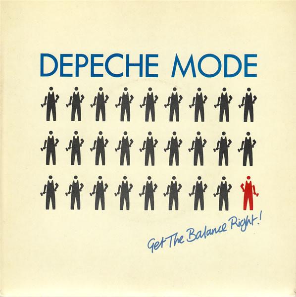 DEPECHE MODE - Get The Balance Right! - 45T (SP 2 titres)