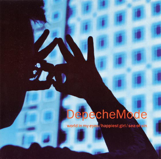 DEPECHE MODE - World In My Eyes / Happiest Girl / Sea Of Sin - 45T (SP 2 titres)
