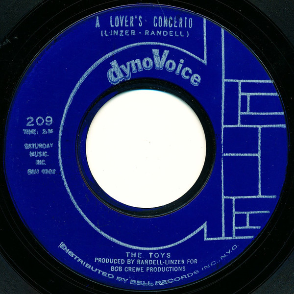 TOYS - A Lover's Concerto - 45T (SP 2 titres)