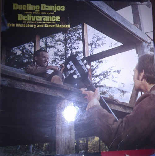 ERIC WEISSBERG AND STEVE MANDELL - Dueling Banjos - From The Original Sound Track Of Deliverance - 33T
