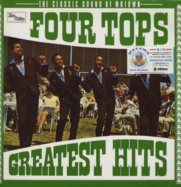 FOUR TOPS - Greatest Hits - 33T