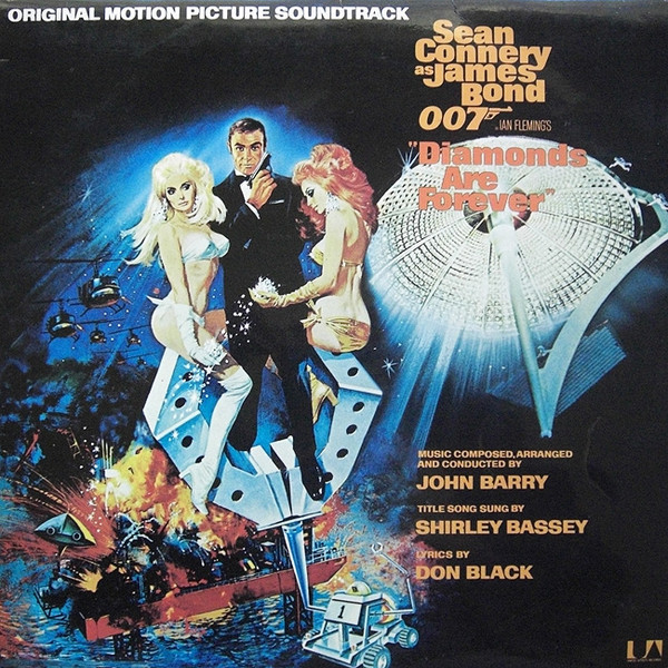 JOHN BARRY - Diamonds Are Forever (Original Motion Picture Soundtrack) - 33T