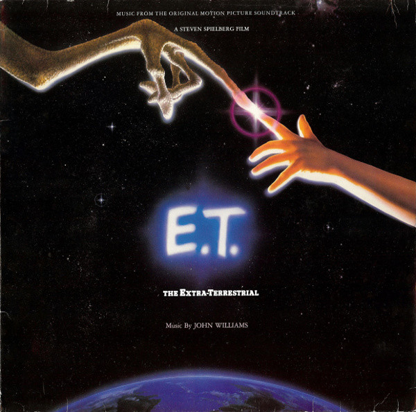 JOHN WILLIAMS (4) - E.T. The Extra-Terrestrial (Music From The Original Motion Picture Soundtrack) - 33T