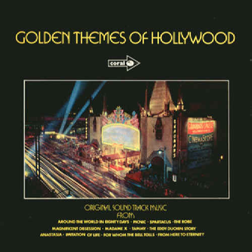 VARIOUS - Golden Themes Of Hollywood - 33T