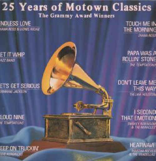 VARIOUS - 25 Years Of Motown Classics - The Grammy Award Winners - 33T