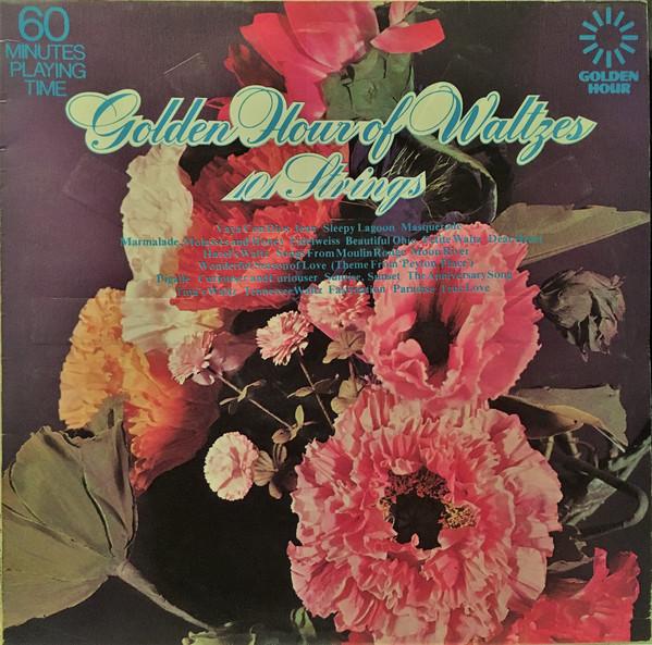 101 STRINGS - Golden Hour Of Waltzes - LP