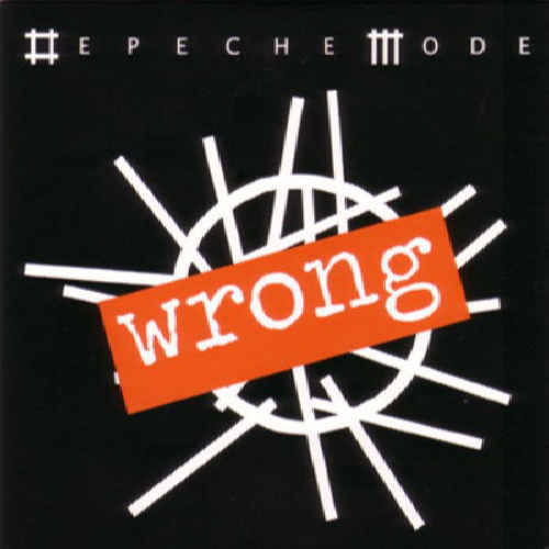 DEPECHE MODE - Wrong - CD single