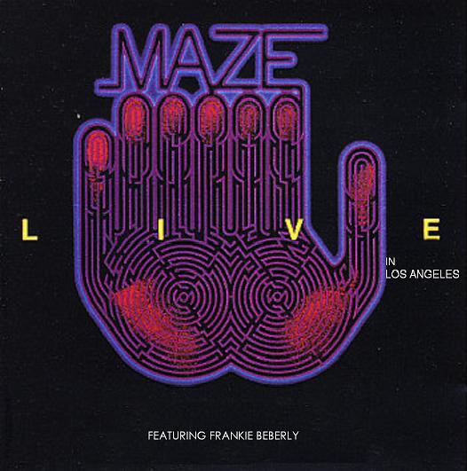 MAZE FEATURING FRANKIE BEVERLY - Live In Los Angeles - LP x 2