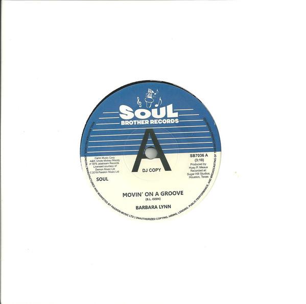 BARBARA LYNN - Movin' On A Groove / Disco Music - 7inch (SP)
