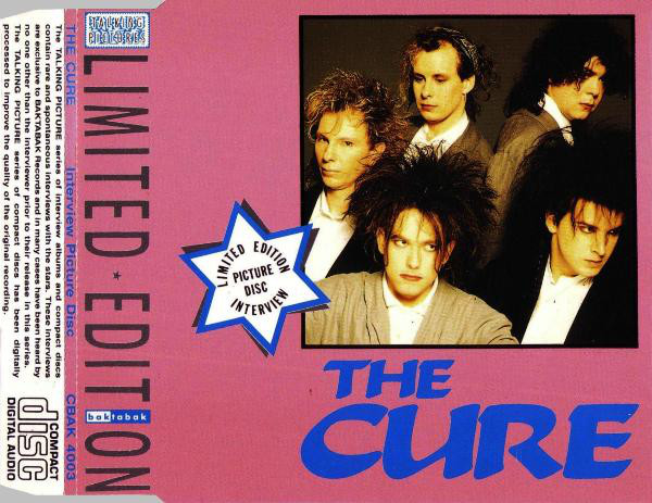 CURE - Limited Edition Interview Picture Disc - CD single