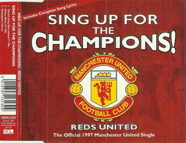 REDS UNITED - Sing Up For The Champions - CD single