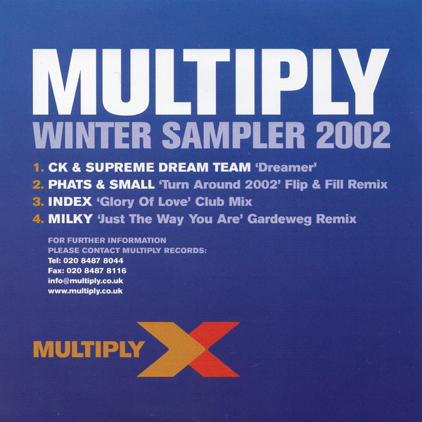 VARIOUS - Multiply Winter Sampler 2002 - CD single