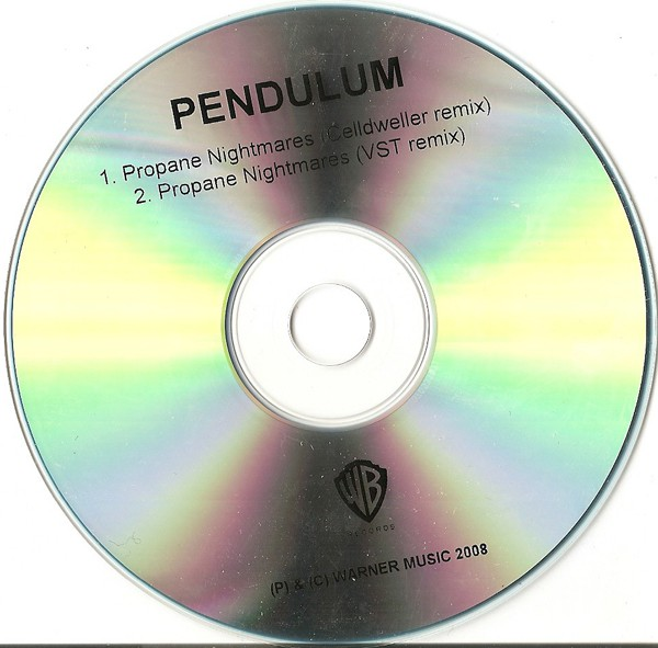 PENDULUM - Propane Nightmares - CD single